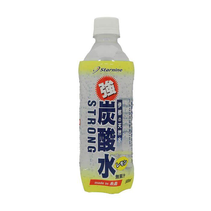 スターナイン 強炭酸水 レモン 500ml×24本 ケース