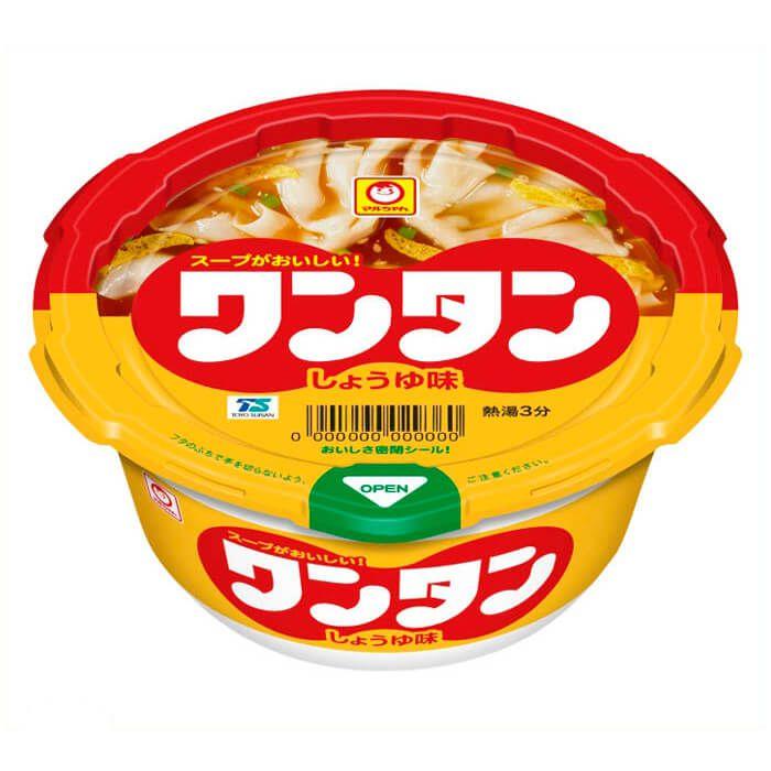 東洋水産 マルちゃん カップワンタン しょうゆ 12食入り ケース