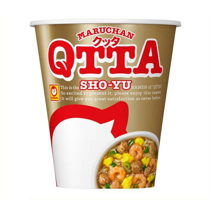 東洋水産 マルちゃん QTTA しょうゆ 73g 12食入り ケース