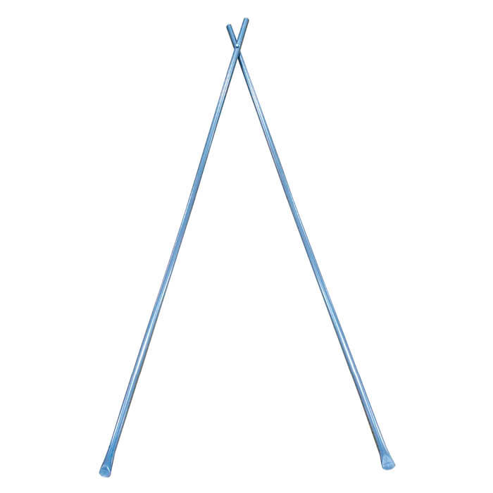 【収穫用品】 3段掛け用2脚 H-8 2.2m 5本