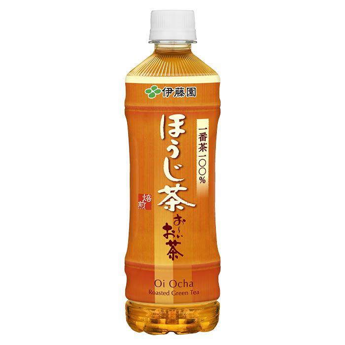 伊藤園 おーいお茶ほうじ茶 525ml×24本ケース