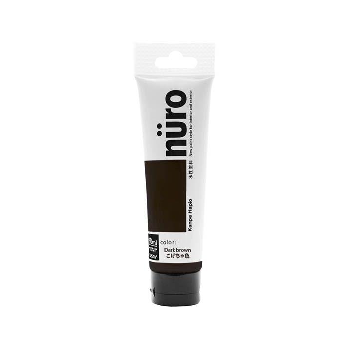 チューブ塗料ヌーロ 30MLこげ茶色