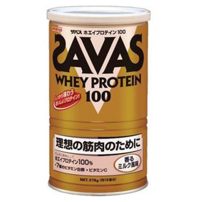 明治 ザバスホエイプロテイン香るミルク 378G(18食分)