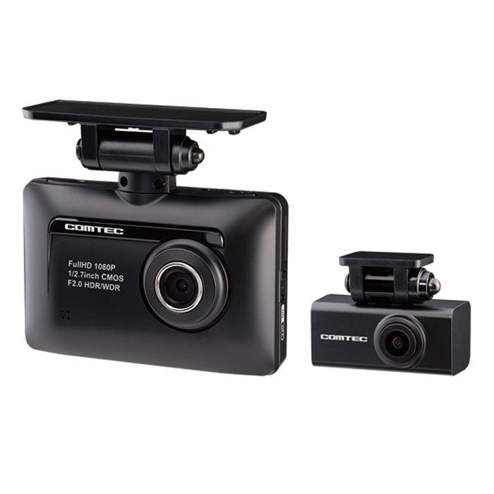 コムテック 前後2カメラドライブレコーダー ZDR015 フルHD200万画素