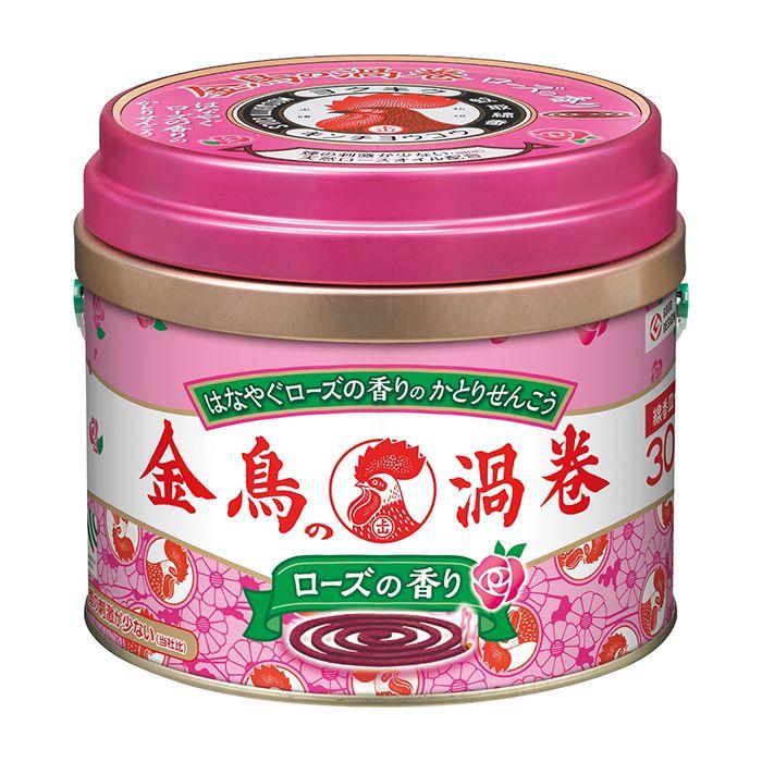 【殺虫剤特集】 金鳥 金鳥香ローズ30 30巻