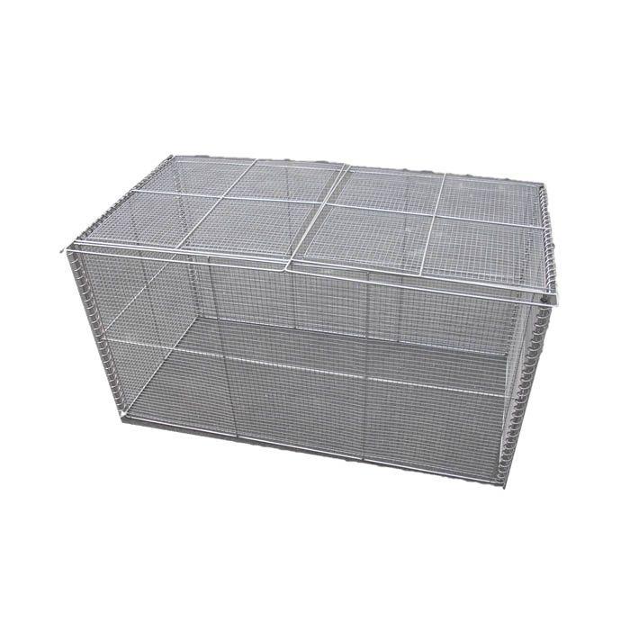 テラダ 簡易折畳型ゴミステーション GOS-120