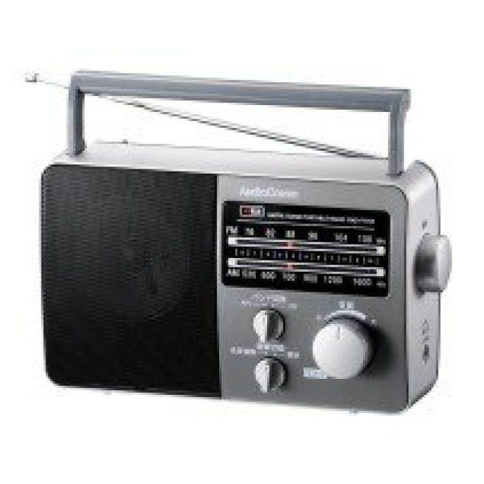 AMFMポータブルラジオWK RAD-F770Z-WK