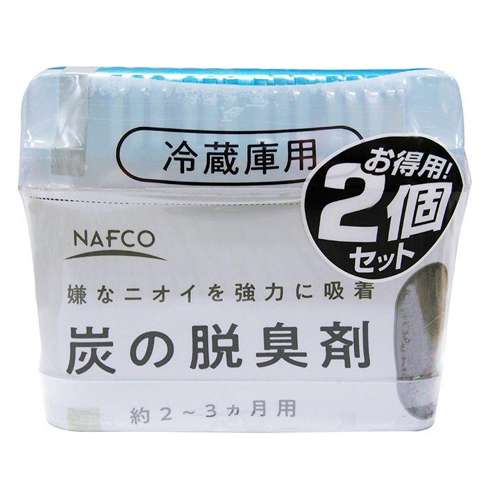 ナフコオリジナル N炭の脱臭剤 冷蔵庫150g×2個