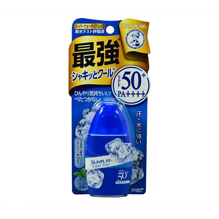 【日焼け止め・制汗剤特集】ロート製薬 サンプレイ スーパークール 30g