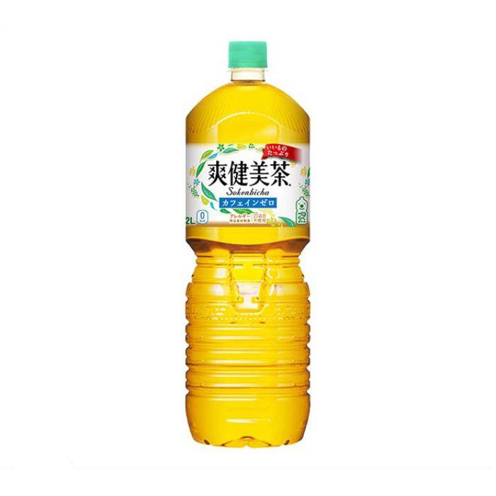 日本コカ・コーラ 爽健美茶 2L×6本 ケース