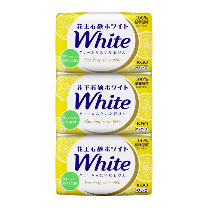 花王 ホワイト リフレッシュ・シトラスの香り バスサイズ 3コパック 390g