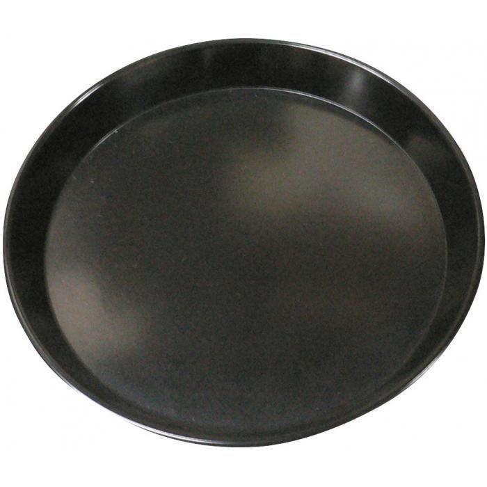 【収穫用品】 カルトン皿 丸 黒