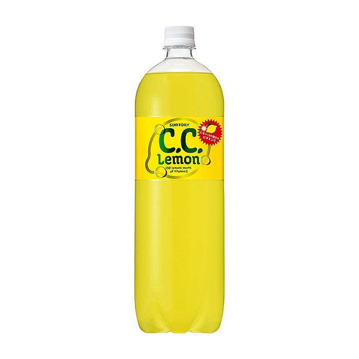サントリーフーズ C.C.レモン 1.5L×8本 ケース