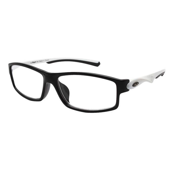 老眼鏡FILA SF3000R-10 ブラックホワイト +2.5