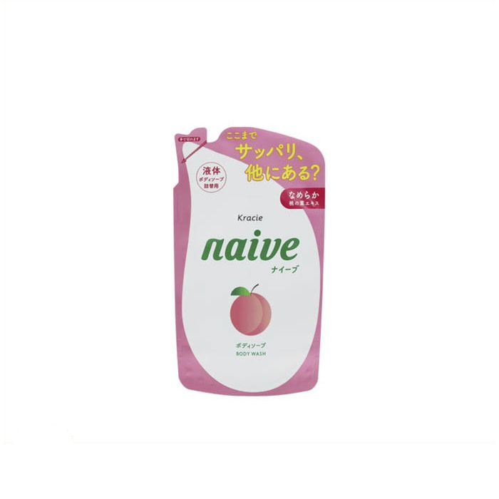 ナイーブ ボディソープ 桃の葉 詰替え380ml