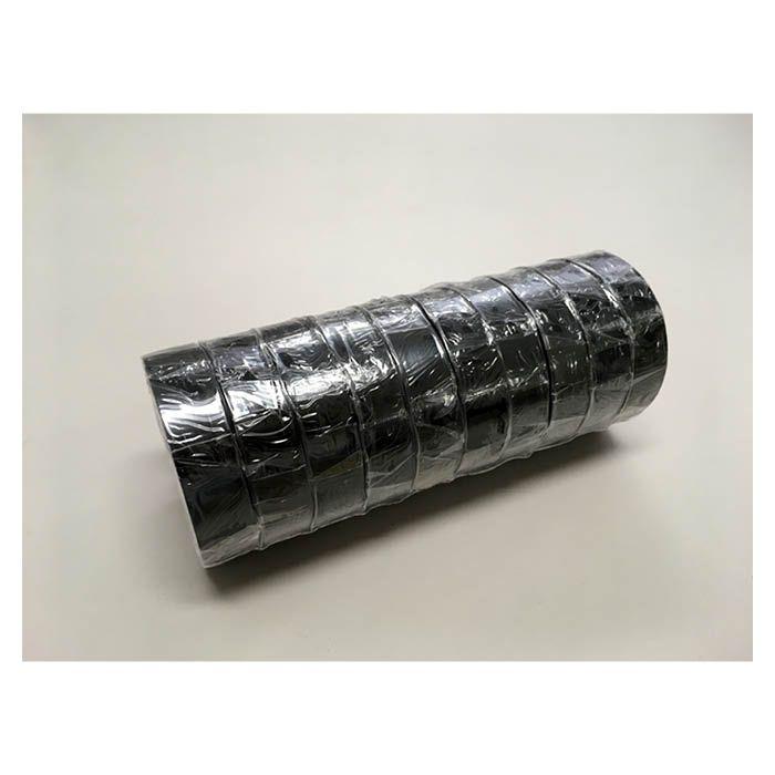 ビニールテープ 10P 黒 19mm×20m