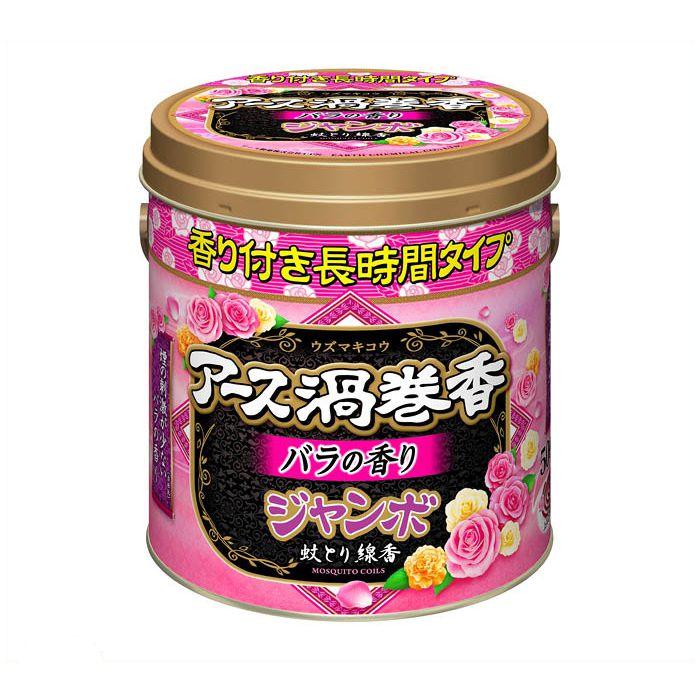【殺虫剤特集】 アース アース渦巻香バラ ジャンボ50巻缶
