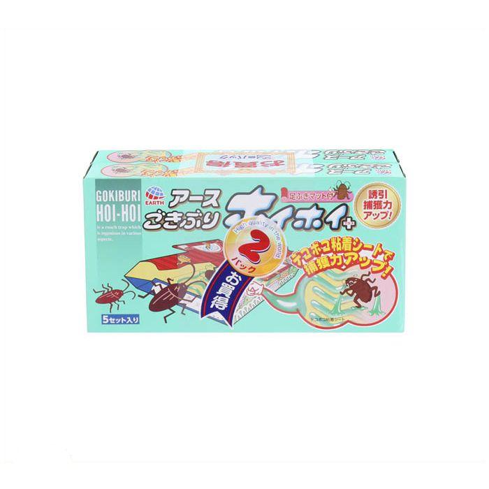 【殺虫剤特集】 アース ゴキブリホイホイ+ デコボコシート2P
