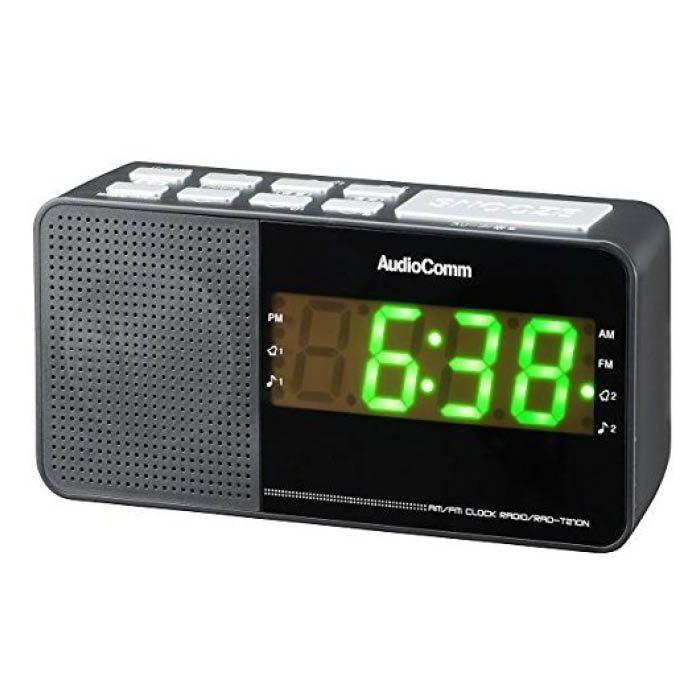 デジタルクロックラジオAC RAD-T210N