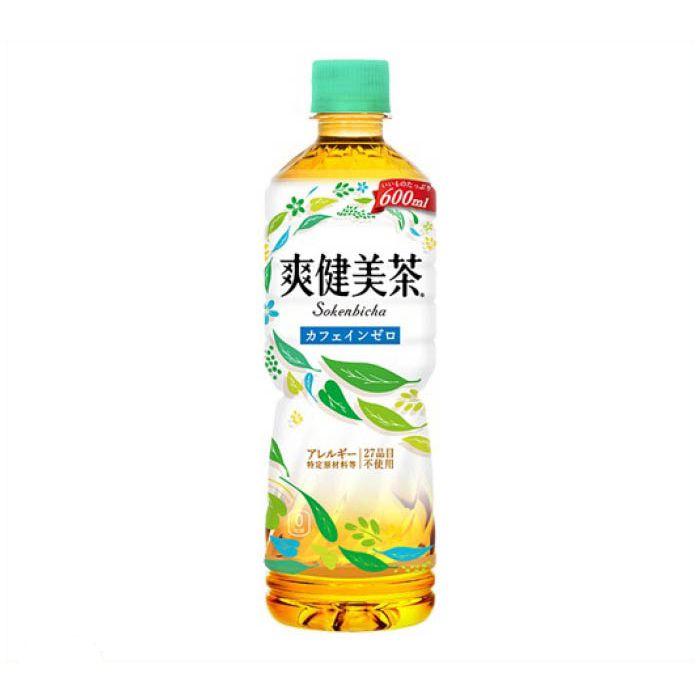 日本コカ・コーラ 爽健美茶 600ml×24本 ケース