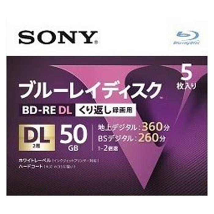SONY SONY BD-RE DL5P 5BNE2VLPS...