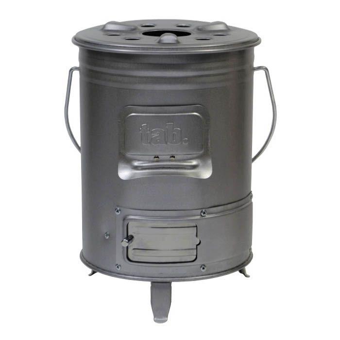 缶ストーブ 直径19.6cm×高さ27.6cm
