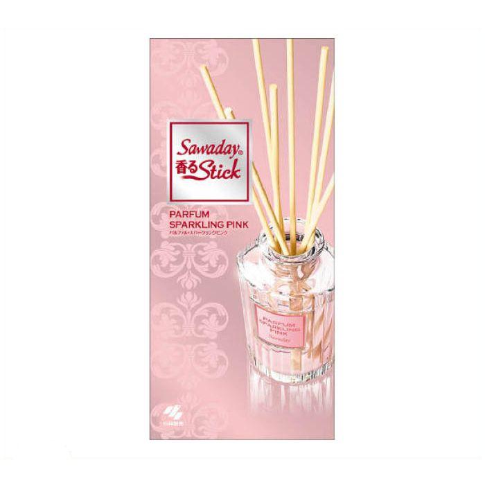 小林製薬 Sawaday香るStick パルファムスパークリング ピンク 70ml