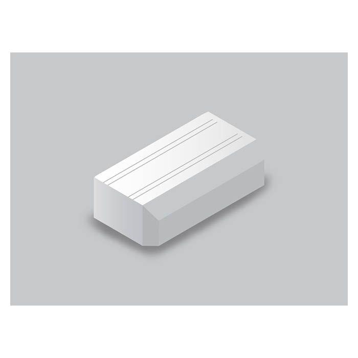 マサル工業 Fモールエンド1号ホワイト SFMEEH12
