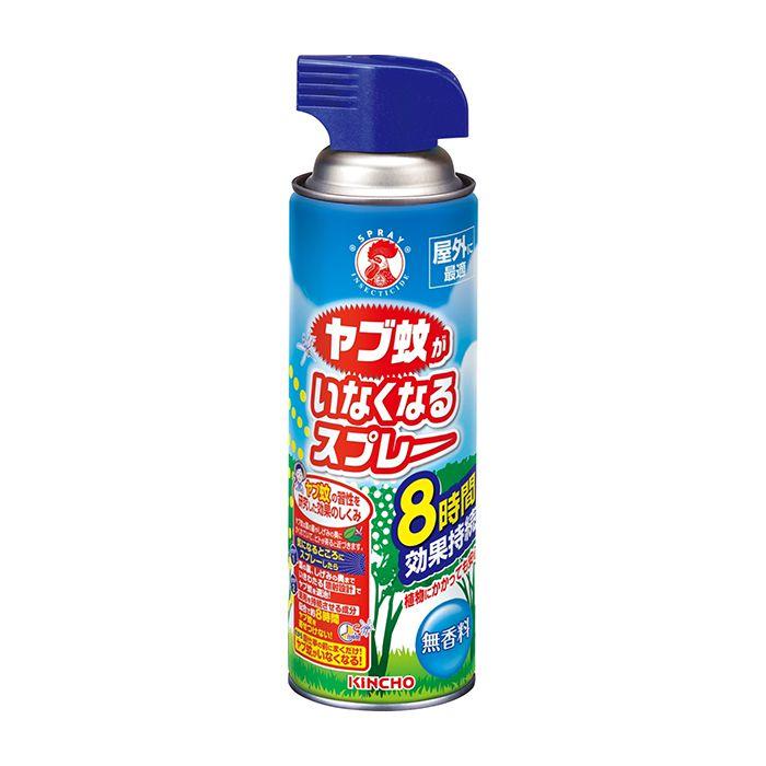 【殺虫剤・防虫剤特集】 金鳥 ヤブ蚊いなくなるスプレー 450ml