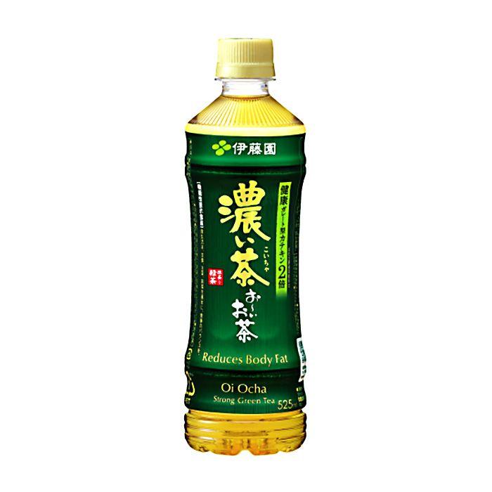 伊藤園 お〜いお茶濃い茶 525ml×24本ケース