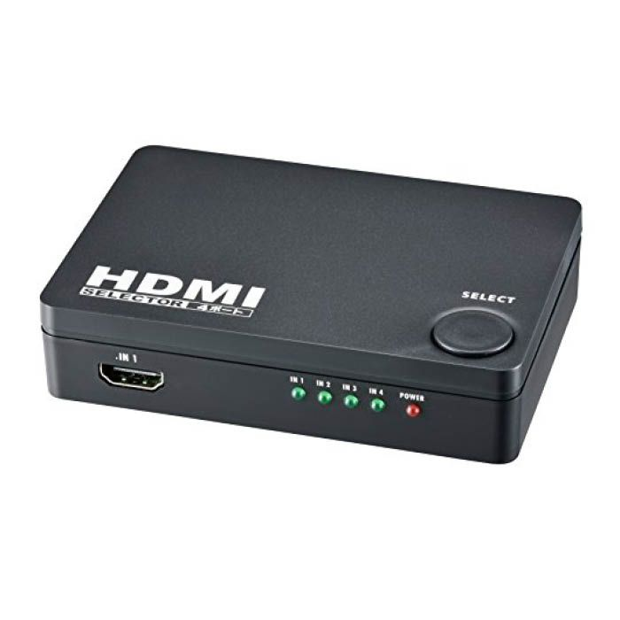 4ポートHDMIセレクター AV-S04S-K