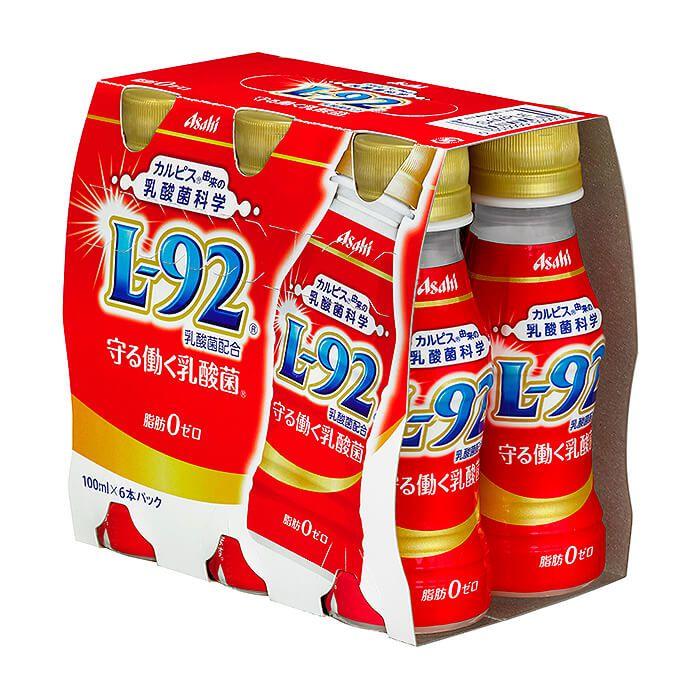 アサヒ飲料 カルピス 守る働く乳酸菌 100ml×6本パック