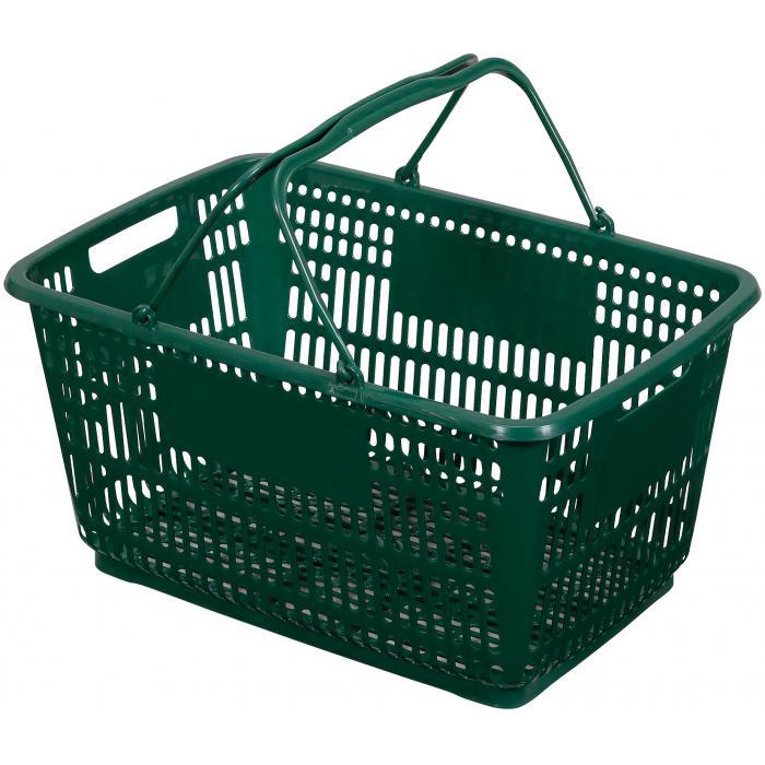 買い物カゴ グリーン