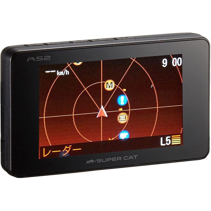 ユピテル ユピテル A52 GPSレギュラー レーダー探知機 A52