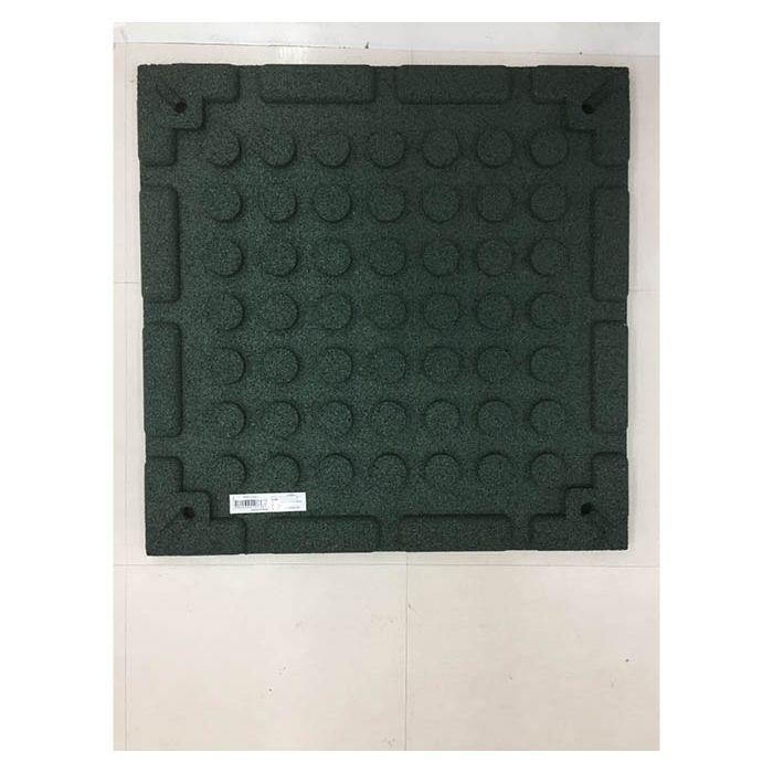 エックスジョイントラバーマット 51cm×51cm グリーン(1枚)