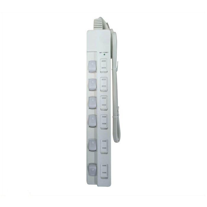 関西通信電線 LED6スイッチタップ KT-PS622M