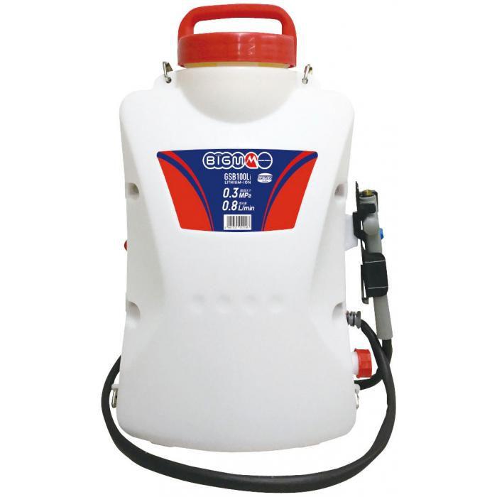 BIG-M バッテリー動噴 GSB100Li