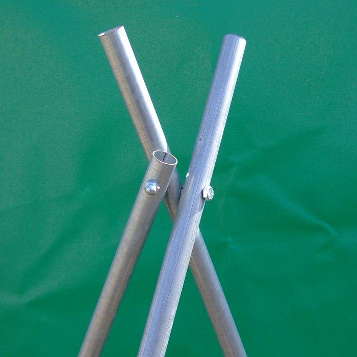 南榮工業 ほすべー 1段掛け用3脚 H-3 バラ 1.8m