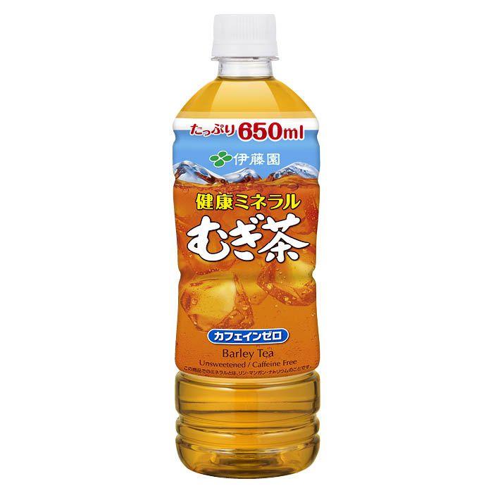 伊藤園 健康ミネラルむぎ茶 650ml×24本 ケース