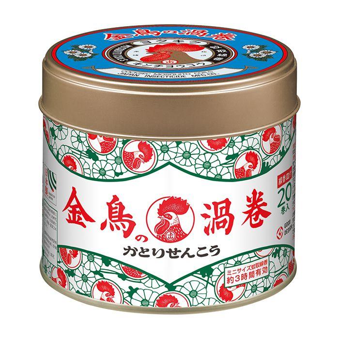 【殺虫剤特集】 金鳥 金鳥香ミニサイズ 20巻