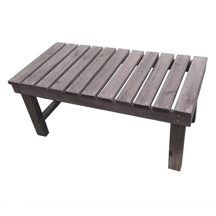 天然木ベンチ DBR 90×45×40cm