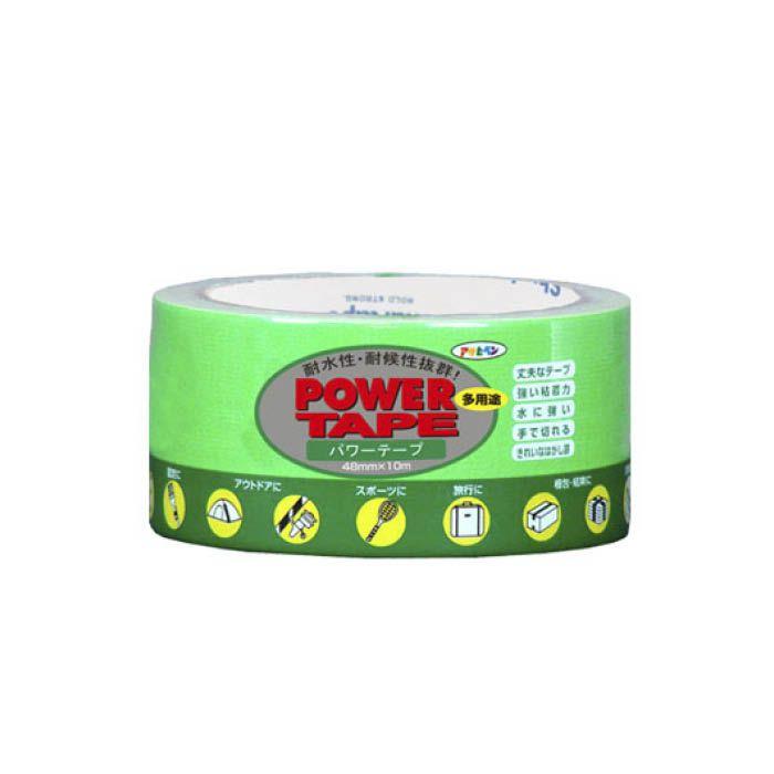 パワーカラーテープ 48cm×10m蛍光グリーン