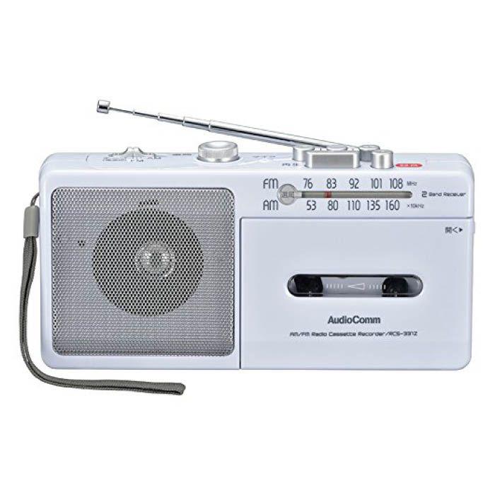 AMFMラジオカセットレコーダ RCS-331Z
