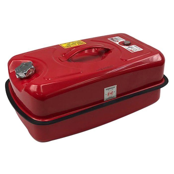 【災害対策にも】 積み重ねができる携行缶 20L EM-147NF