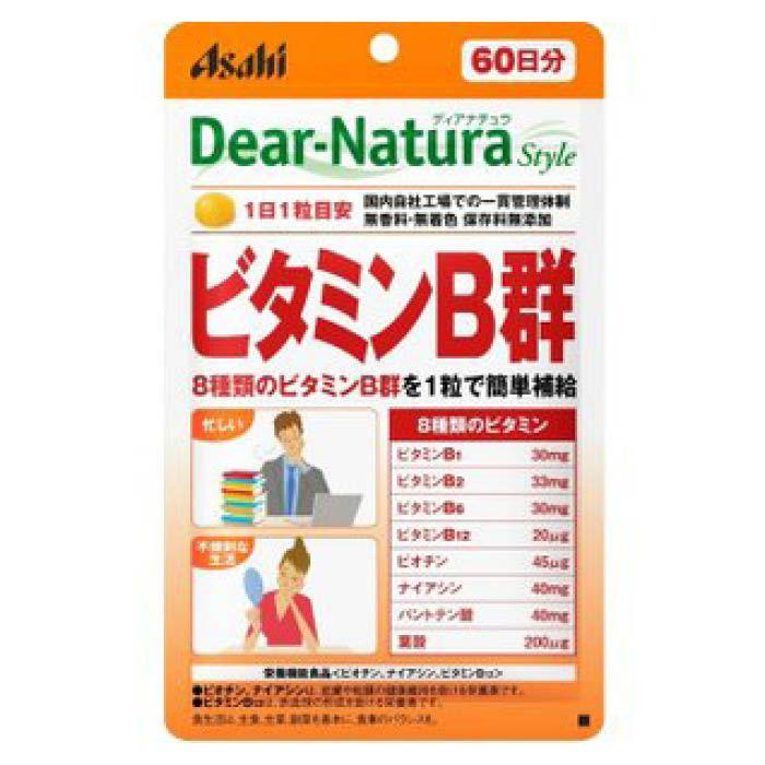 アサヒグループ食品 ディアナチュラ スタイルビタミンB群 60粒(60日)