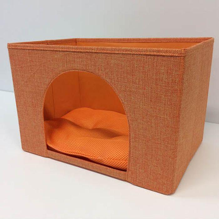 ペットBO×横型 オレンジ 38×26×25cm