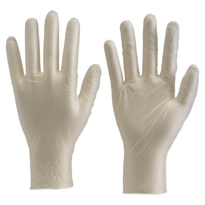 (T)TRUSCO(トラスコ) ビニ-ル手袋粉なしM(100枚入)