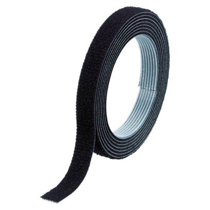 (T)TRUSCO(トラスコ) マジックバンド結束テープ両面幅40mmX長さ1.5m黒