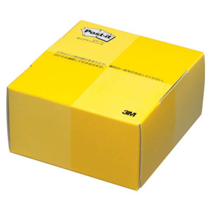 (T)3M(スリーエム) ポスト・イット ポップアップノート 74X69mm 300枚 レモン