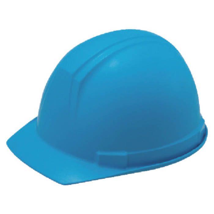 (T)タニザワ ABS製前ひさし型ヘルメット 青